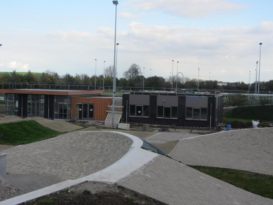 bouw clubhuis (5 nov 2017)