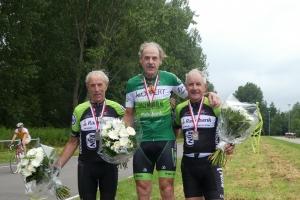 Gouda Leen en Guus podium