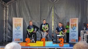 WK triathlon in Rotterdam
