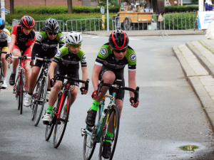 Ronde v Purmerplein (foto fam Hopman)